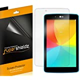 [3-Pack] Supershieldz Anti-Bubble Clear Screen Protector for LG G Pad 7.0 / G Pad 7.0 LTE with Lifetime Replacement (Color: HD Clear)