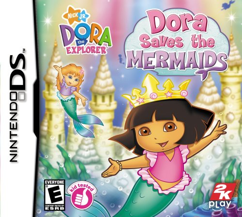 Dora the Explorer: Dora Saves the Mermaids - Nintendo DS - 1