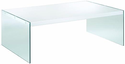 HAKU Möbel 87382 Couchtisch 110 x 70 x 40 cm, weiß