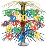 90 Cascade Centerpiece (multi-color) Party Accessory  (1 count) (1/Pkg)