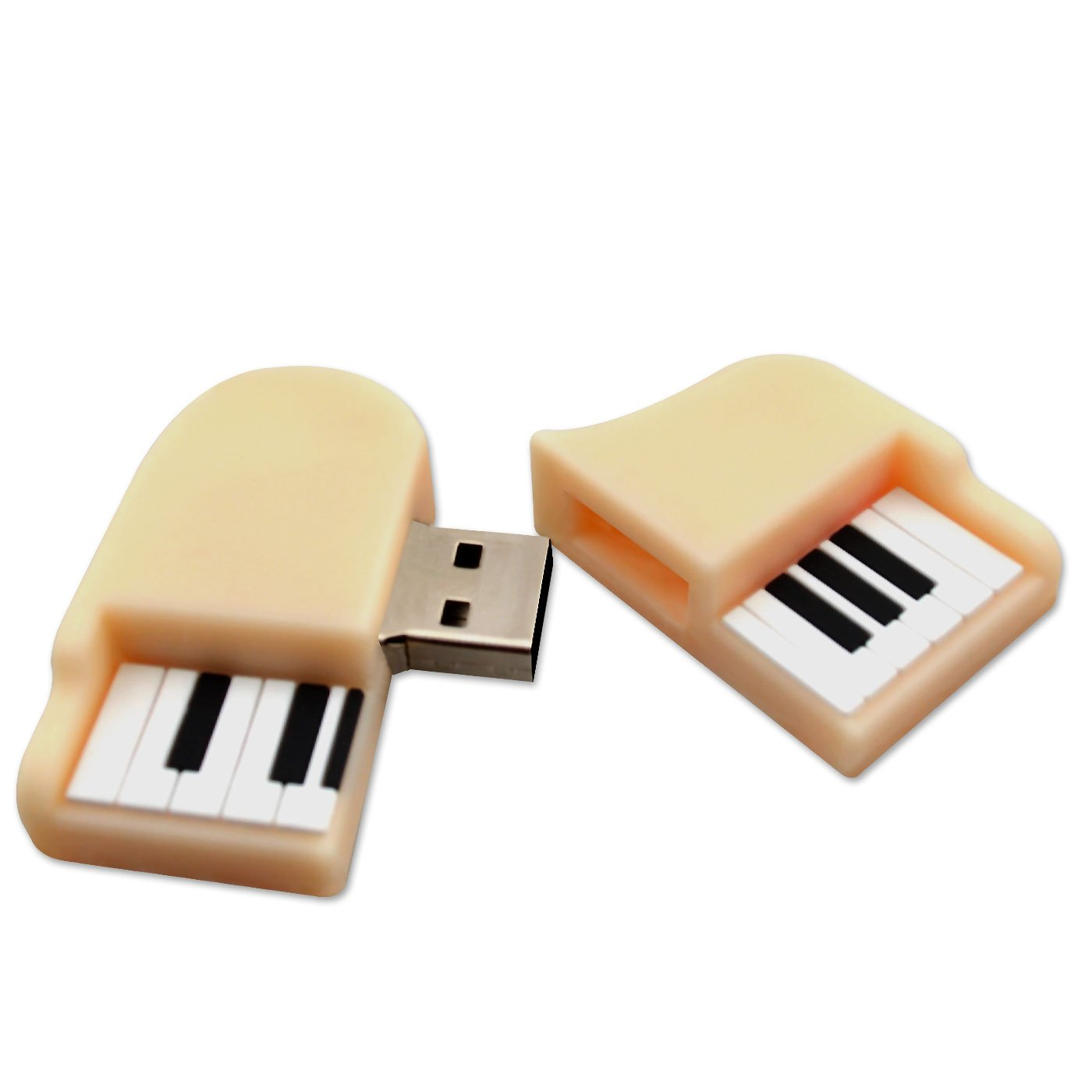 cl usb 8go instrument piano 3d blanc usb 2 0 accessories studio live buy online. Black Bedroom Furniture Sets. Home Design Ideas
