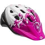 Bell 7073350 Rally Child Helmet, Pink/White Flutter (Color: Pink/White Flutter)