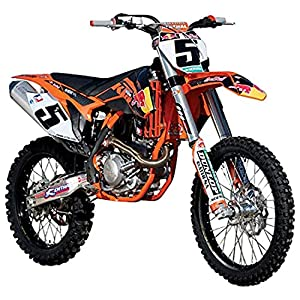"Tobar 1:18 Scale ""KTM 450 SX-F- 2015 Season Dungey"" Bike"