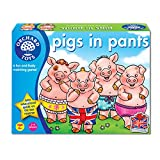 Orchard Toys Pigs In Pants, Multi Color
