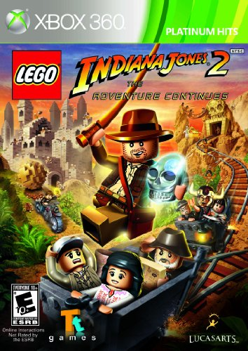 Lego Indiana Jones 2: The Adventure Continues Amazon.com