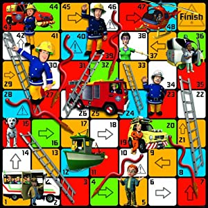 Jumbo Fireman Sam Hoses & Ladders Game