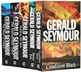 Gerald Seymour Gerald Seymour Collection 5 Books Set (Condition Black, Home Run, Holding the Zero, The Journeyman Tailor, The Heart of Danger)