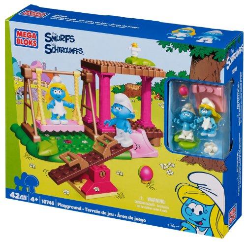 Mega Bloks Smurfs Playground