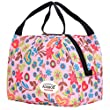 Aosbos Recycled Insulated Lunch Box Tote Bag (Pink Love)