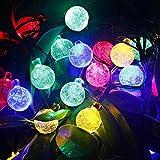 Coomatec LED30球 6m led イルミネーションライト ガーデンライト ソーラー クリスマス イルミネーション 屋外 防水 発光モードは8パターン 光センサー内蔵 自動ON/OFF