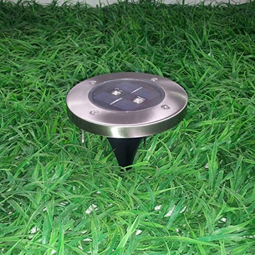 Black menba solar powered ground light outdoor ground for In ground walkway lights