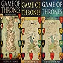 Game of Thrones: 3 Book Series Audiobook by  History of Thrones Narrated by Phillip J. Mather
