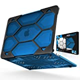 iBenzer Hexpact MacBook Pro 13 inch case 2015 2014 2013 2012 Release A1502 A1425, Heavy Duty Protective Hard Case Shell Cover for Apple MacBook Pro 13 with Retina Display, Blue, HR13CYBL (Color: Crystal Blue, Tamaño: Macbook Pro 13
