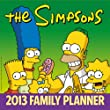 The Simpsons Family Planner 2013