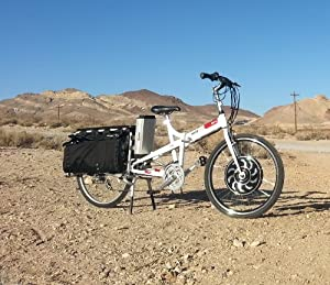 Electro Joe Electric Cargo Bicycle by Madboy Electric Vehicles