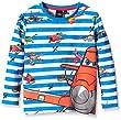 Disney Boy's Planes Long Sleeve T-Shirt, Orange (Coloquinte), 6 Years