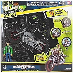 Ben 10 Ben With Motorcycle