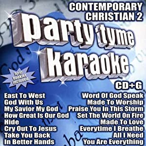 Party Tyme Karaoke: Contemporary Christian 2