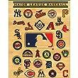 C.R. Gibson Two-Pocket Portfolio, High Gloss, Major League Baseball All-Team (M902053)