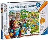 Ravensburger 00516 - tiptoi®: Puzzlen, Entdecken, Erleben - Burg - 100 Teile Puzzle (ohne Stift) von Ravensburger