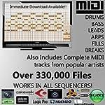 MIDI Pack - 330.000 fichiers MIDI Pac...