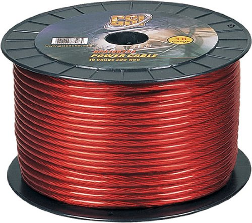 Gsi Gpc10R250 - 10 Gauge Power Ground Cables