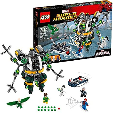 LEGO - 76059 - Marvel Super Heroes - Spider-man : le Piège À Tentacules de Doc Ock