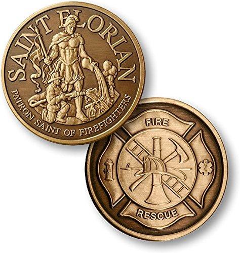 Saint Florian - Bronze Antique