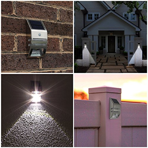 solar powered wall light street light outdoor light security light
