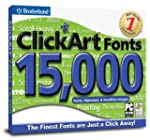 Clickart Fonts 3 (Jewel Case)