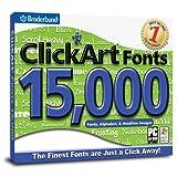 ClickArt Fonts 15,000 ~ Encore Software