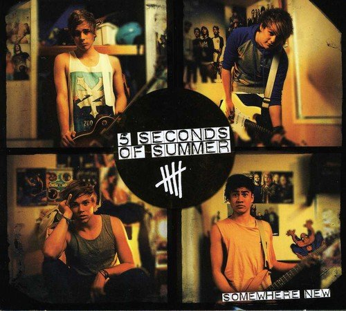 CD : 5 Seconds of Summer - Somewhere New EP (Australia - Import)