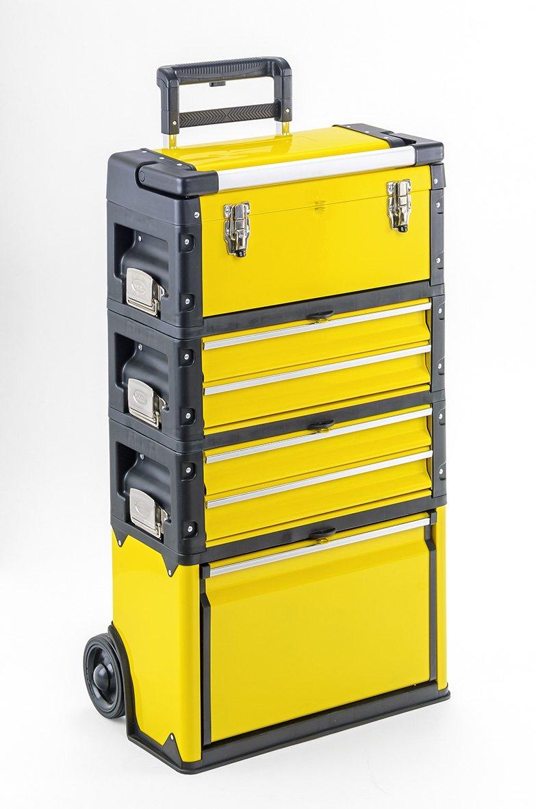 Trolley 4 Module mit 6 Fächern  Werkzeugtrolley mit Alu Griff  BaumarktKundenbewertung und Beschreibung