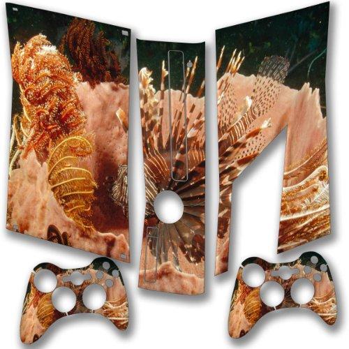 """""""Sea Life"""" 10033, Snuggle Edition, Sticker For Xbox 360 Slim Game Console."""