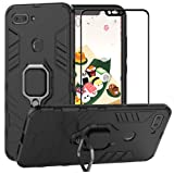 Built-in Bracket Shockproof Protective TPU Cover for Huawei P20 5.8 Inch SOGOCOOL Huawei P20 Case Green