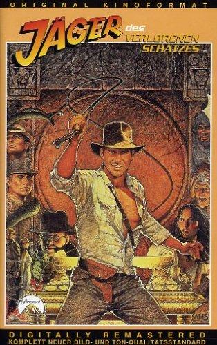 Indiana Jones - Jäger des verlorenen Schatzes [VHS]
