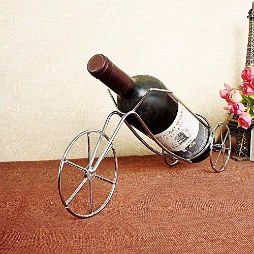 silber mode kreativ romantische dreirad eisen wein rack. Black Bedroom Furniture Sets. Home Design Ideas
