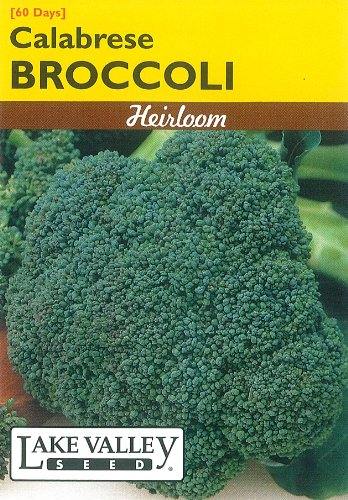 Lake Valley 55 Broccoli Calabrese Heirloom Seed Packet
