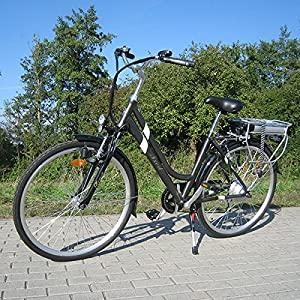 TXED Alu Elektro Fahrrad City 8000HC-B 28' E-Bike Markenfahrrad TOP QUALITÄT