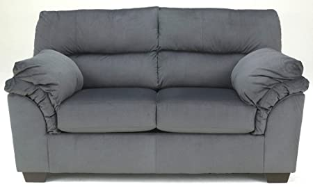 Vergana Loveseat Charcoal