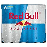 Red Bull Energy Drink Sugar Free (6x250ml)