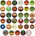 Green Mountain Gloria Jeans Timothys Coffee People Donut House Celestial Seasonings Emerils Unique Sampler K-cup Portion Pack For Keurig Brewers 35 Different by Deals On Call
