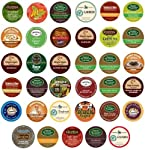 Green Mountain, Gloria Jean's, Timothy's, Coffee People, Donut House, Celestial Seasonings, Emeril's Unique Sampler K-Cup Portion Pack for Keurig Brewers, 35 Different from Deals On Call