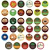 Green Mountain, Gloria Jean's, Timothy's, Coffee People, Donut House, Celestial Seasonings, Emeril's Unique Sampler K-Cup Portion Pack for Keurig Brewers, 35 Different