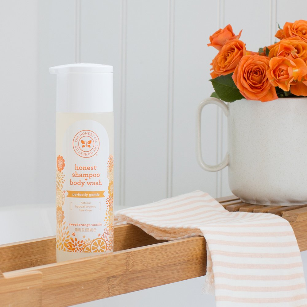 Honest Sweet Orange Vanilla Shampoo Body Wash
