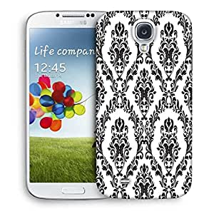 Snoogg Grey Spaced Pattern Designer Protective Phone Back Case Cover For Samsung Galaxy S4