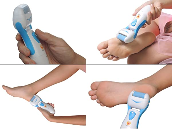 Using a callus remover is quite simple