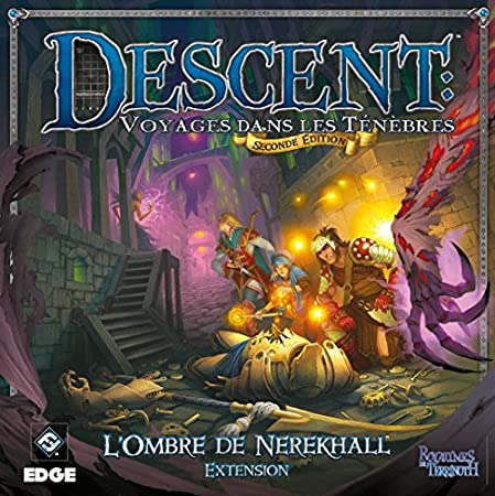 Edge - Descent Seconde Edition : L'ombre de Nerekhall