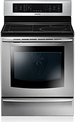 Samsung NE597N0PB 5.9 Cu. Ft. Electric Free Standing FlexCook Zone Induction Cooktop Range, Stainless Steel