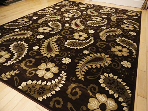 large brown rugs 8x11 area rugs clearance traditional rugs. Black Bedroom Furniture Sets. Home Design Ideas